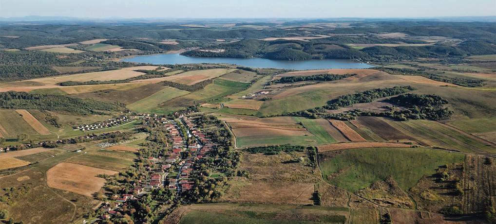 Rakaca-tó Martonyi északról